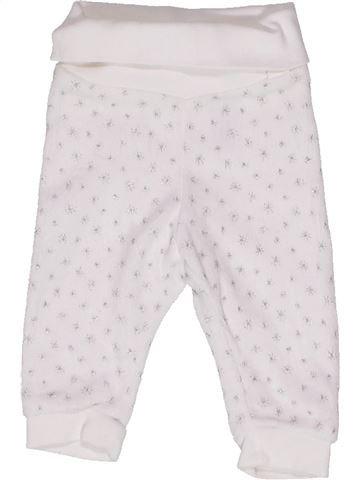 Pantalon fille H&M blanc 1 mois hiver #1271323_1