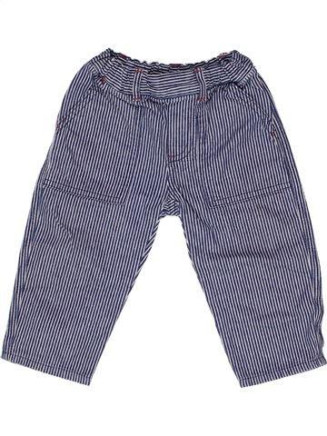 Pantalon garçon PETIT BATEAU bleu 18 mois été #1271440_1