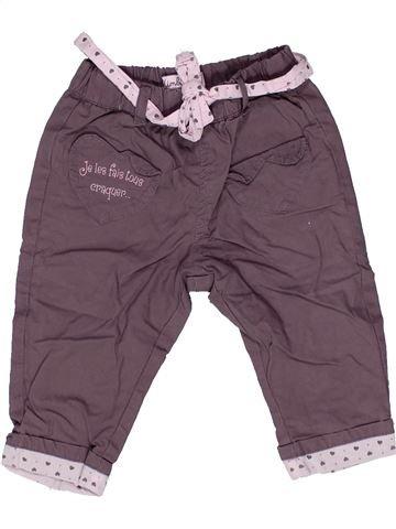 Pantalon fille KIMBALOO gris 6 mois été #1271445_1
