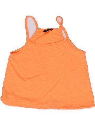 Camiseta sin mangas niña CANDY COUTURE naranja 12 años verano #1271576_1