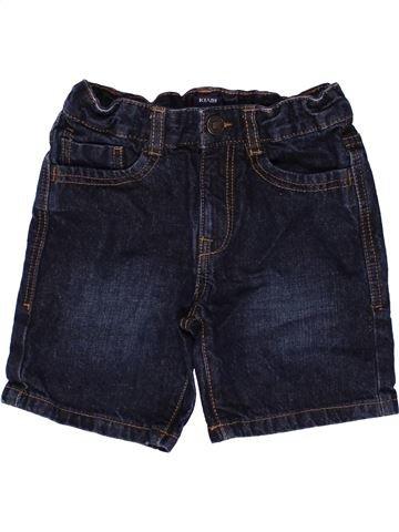 Short - Bermuda garçon KIABI bleu foncé 8 ans été #1271943_1
