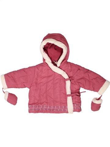 Abrigo niña LA REDOUTE CRÉATION rosa 9 meses invierno #1272144_1