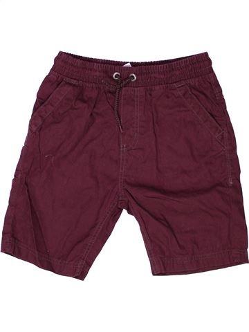 Short - Bermuda garçon GEORGE violet 10 ans été #1272206_1