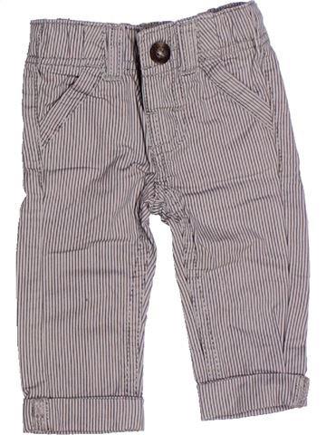 Pantalon garçon TAPE À L'OEIL gris 3 mois été #1272525_1