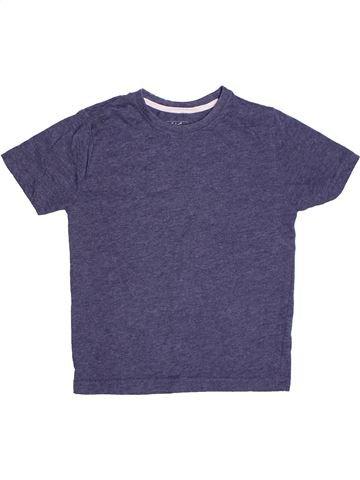 T-shirt manches courtes garçon REBEL violet 6 ans été #1272548_1