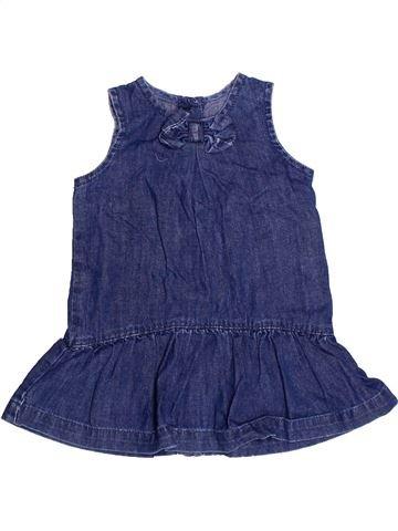 Vestido niña BENETTON azul 6 meses verano #1272732_1
