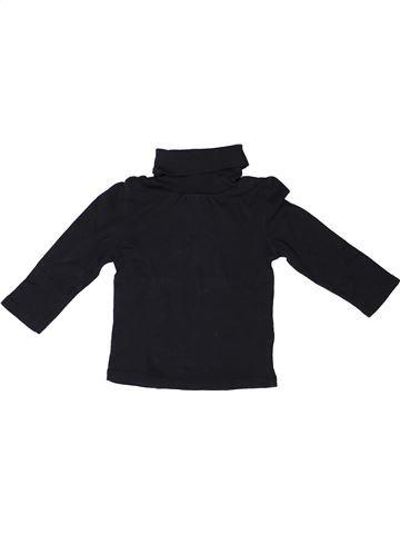 T-shirt col roulé fille VERTBAUDET noir 2 ans hiver #1272743_1