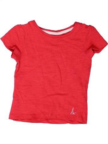 Camiseta de manga corta niña ORCHESTRA rojo 2 años verano #1272767_1