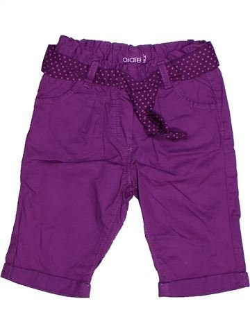 Pantacourt fille OKAIDI violet 18 mois été #1272795_1