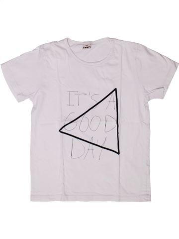 Camiseta de manga corta niño IKKS blanco 10 años verano #1272827_1