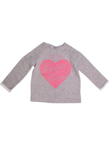 Sweat fille ORCHESTRA gris 2 ans hiver #1272855_1