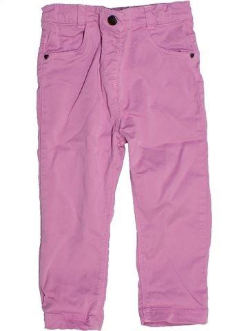 Pantalon fille ORCHESTRA rose 18 mois été #1272856_1