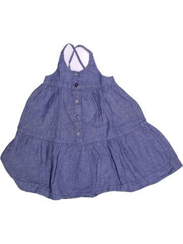 Robe fille DPAM bleu 2 ans été #1273290_1