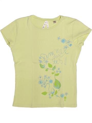T-shirt manches courtes fille OKAIDI vert 12 ans été #1273332_1