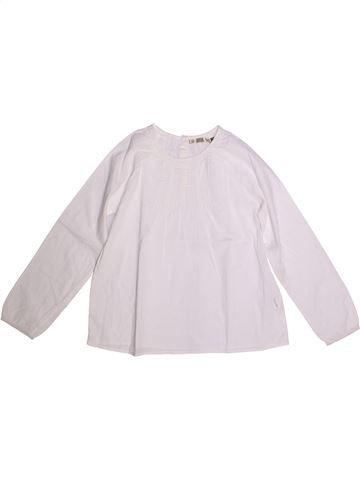 Blouse manches longues fille CFK blanc 12 ans hiver #1273342_1