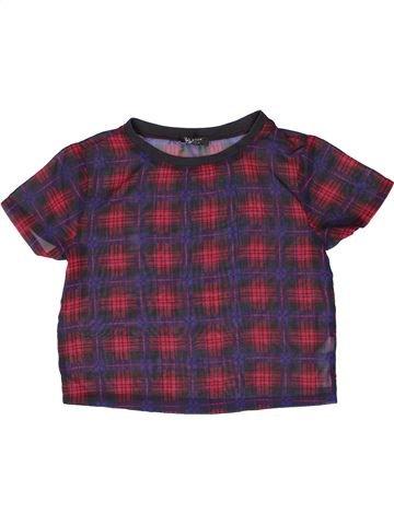 T-shirt manches courtes fille NEW LOOK violet 12 ans été #1273379_1