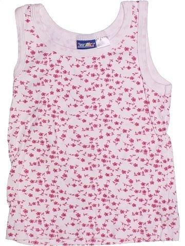 T-shirt sans manches fille LUPILU rose 6 ans été #1273526_1