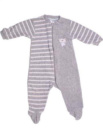 Pyjama 1 pièce garçon IMPIDIMPI gris 10 ans hiver #1273549_1