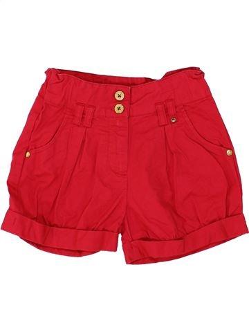 Short - Bermuda fille DUNNES STORES rouge 6 ans été #1273726_1