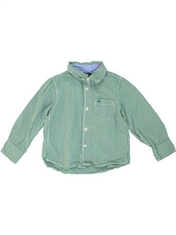 Camisa de manga larga niño H&M azul 3 años invierno #1273979_1