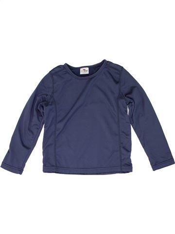 Polo manches longues garçon CRANE bleu 6 ans hiver #1274140_1