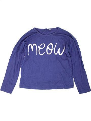T-shirt manches longues garçon ORIGINAL MARINES bleu 10 ans hiver #1274397_1