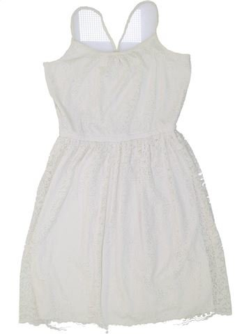 Vestido niña H&M blanco 14 años verano #1274477_1