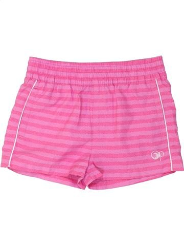 Short de sport fille OCEAN PACIFIC rose 10 ans été #1274528_1