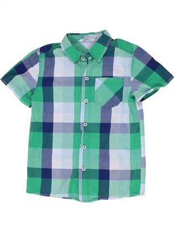 Camisa de manga corta niño H&M verde 9 años verano #1274605_1
