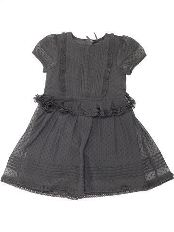 Vestido niña NEXT gris 6 años verano #1274648_1