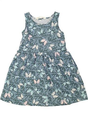 Vestido niña H&M azul 6 años verano #1274739_1