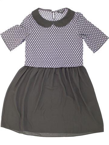 Vestido niña NEW LOOK gris 11 años verano #1274792_1
