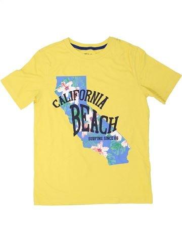 T-shirt manches courtes garçon GAP jaune 11 ans été #1274878_1