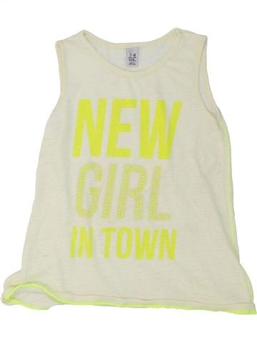Camiseta sin mangas niña ZARA azul 8 años verano #1274918_1