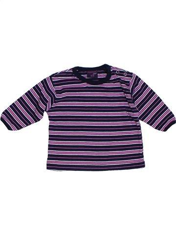 T-shirt manches courtes fille DOPODOPO bleu 6 mois été #1275143_1
