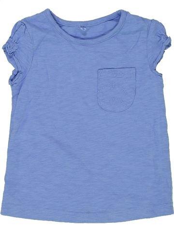 Camiseta de manga corta niña GEORGE azul 3 años verano #1275372_1
