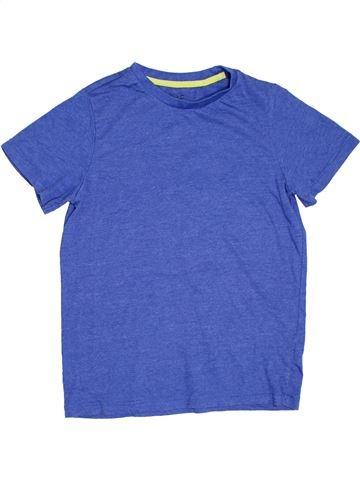 T-shirt manches courtes garçon F&F bleu 11 ans été #1275425_1