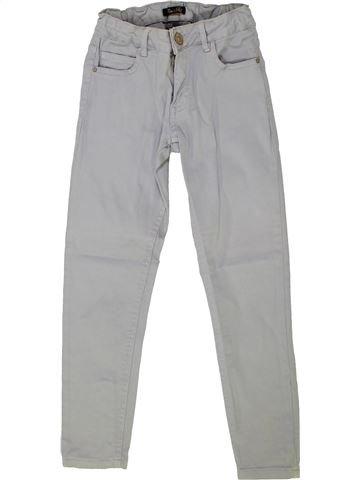 Pantalón niña ZARA gris 8 años verano #1275437_1