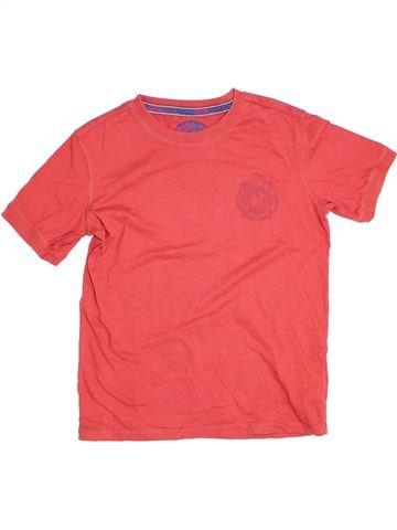 T-shirt manches courtes garçon MARKS & SPENCER rose 12 ans été #1275927_1