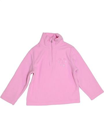 Pull fille LUPILU rose 4 ans hiver #1276248_1