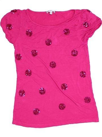 Camiseta de manga corta niña MARKS & SPENCER rosa 11 años verano #1276256_1