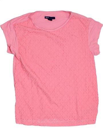 T-shirt manches courtes fille GAP rose 10 ans été #1276275_1