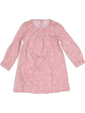 Robe fille MOTHERCARE rose 3 ans hiver #1276280_1