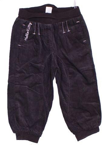 Pantalon fille HELLO KITTY noir 2 ans hiver #1277029_1