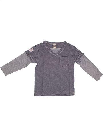 T-shirt manches longues garçon TAPE À L'OEIL gris 2 ans hiver #1278364_1