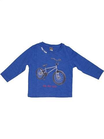 T-shirt manches longues garçon TAPE À L'OEIL bleu 2 ans hiver #1278588_1