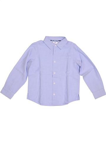 Chemise manches longues garçon JACADI bleu 4 ans hiver #1278590_1