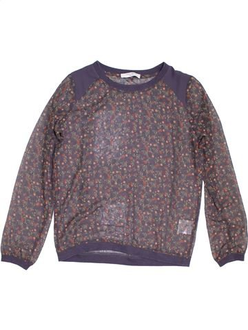 Blouse manches longues fille TEDDY SMITH gris 14 ans hiver #1278984_1