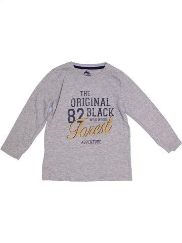 Camiseta de manga larga niño LUPILU gris 6 años invierno #1279772_1