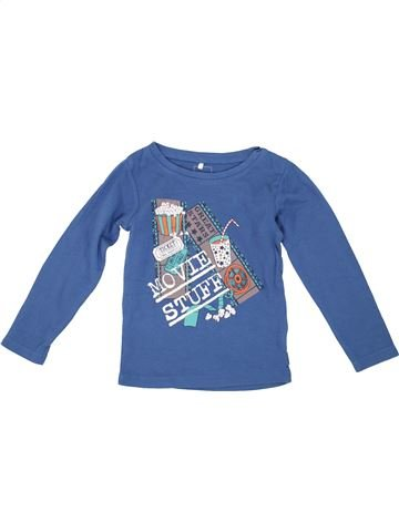 T-shirt manches longues garçon NAME IT bleu 4 ans hiver #1279954_1